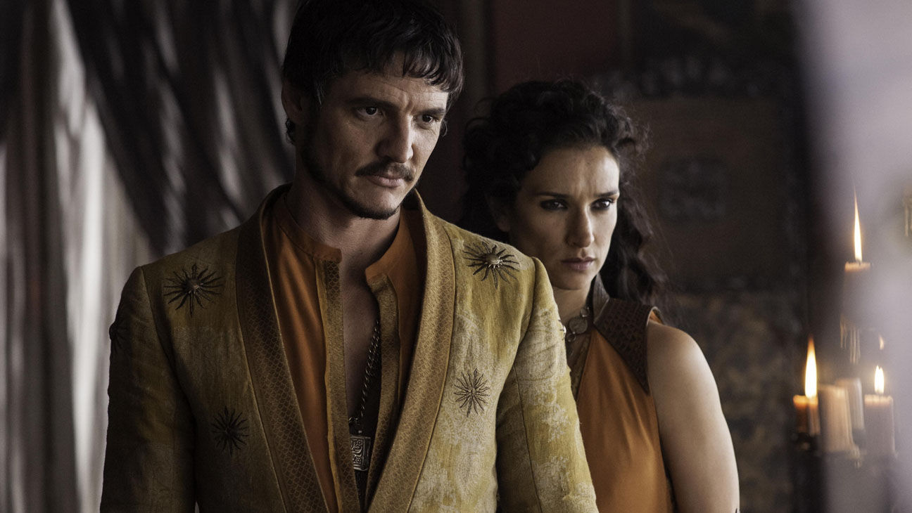 Oberyn Martell (Pedro Pascal) et Ellaria (Indira Varma)