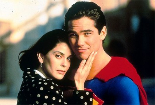 Lois Lane (Teri Hatcher) et Superman (Dean Cain)