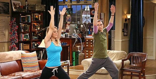 Penny (Kaley Cuoco) et Sheldon Cooper (Jim Parsons)