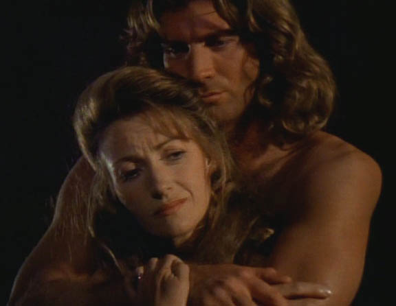 Dr Quinn (Jane Seymour) et Byron Sully ( Joe Lando)