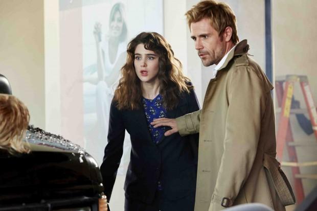 Liv Aberdine (Lucy Griffiths) et John Constantine (Matt Ryan)